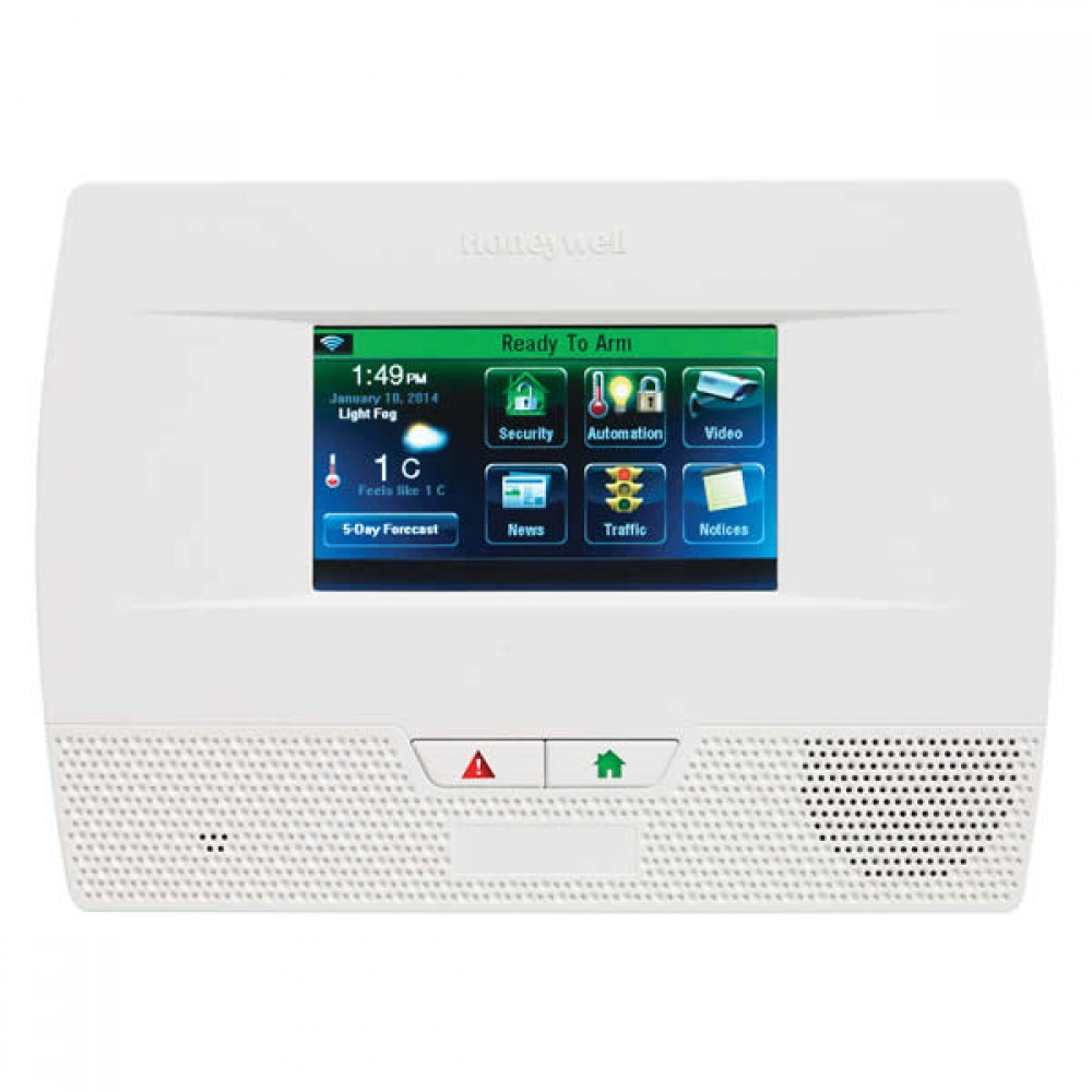 LYNX TOUCH L5210 Series Security System Quick Guide to User Functions