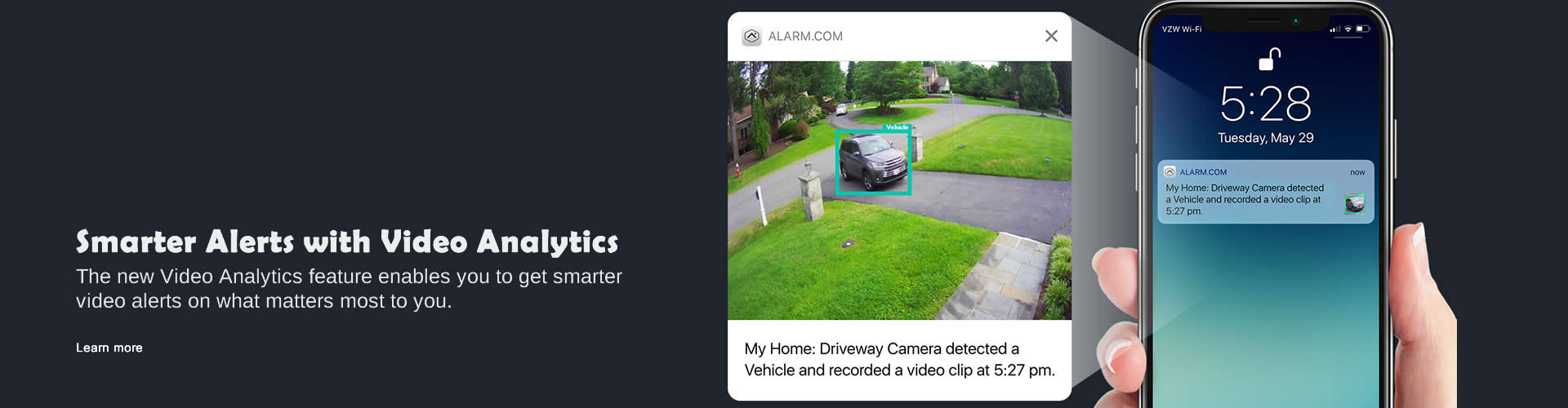 Smarter Alerts with Video Analytics